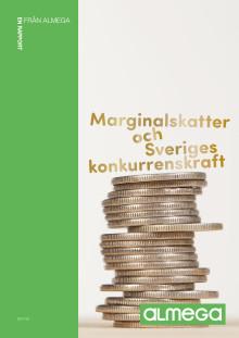 Rapport: Marginalskatter och Sveriges konkurrens