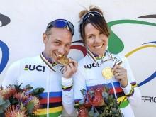 VM-guld till Anna Beck och Henrik Marvig