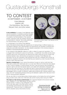 To contest (Att ta strid)