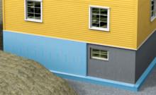 Isolera källarvägg utifrån med PERIMATE™ DI-A-N