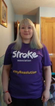 Somerset stroke survivor takes on Resolution Run for charity after being told she will never walk again