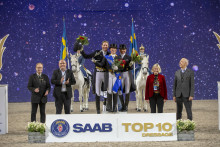 Super success in the Saab Top 10 final