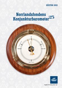 norrlandsfondens konjunkturbarometer hösten 2013
