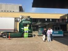 Scania eHighway truck på besøg i Danmark