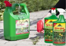 Biologiskt ogräsmedel utan restämnen i jorden