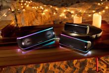 Sæt gang i festen med Sonys nye trådløse  EXTRA BASS-højttalere