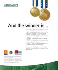 Vinnare av European GreenBuilding Award