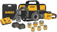 DEWALT® Announces FLEXVOLT® 60V MAX* Cordless Pipe Threader