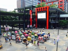 ​A Colourful Summer Parade: Elephant Parade® Taiwan 2016 Shin Kong Mitsukoshi Exhibition