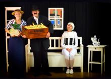 Den turnerande föreställningen Farfars mammas soffa spelas på Alfons Åbergs Kulturhus