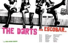 Dirty Water Club Roadshow 2017: The Darts (US), Escobar (FR), Mean Motor Scooter #StompTheSouth with November Tour  |  Dirty Water Records USA