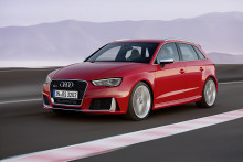 Nya Audi RS 3 Sportback - kraft i kompakt format