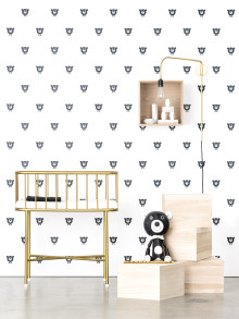 Exclusief behangproject van Photowall en Acne Jr