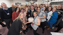 BT contact centre rings up 20 years in Warrington