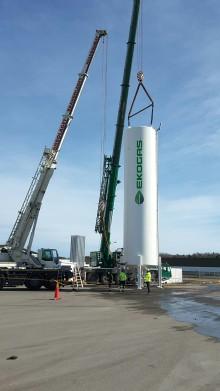 Ekogas investerar i lagring av en större volym gas