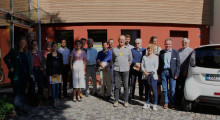 """Vorbildlich: EU-Projekt """"Sinfonia"""" zu Besuch im Institut für Baubiologie + Nachhaltigkeit IBN"""