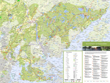 Karta till Arngarn- och Bogesundskilen