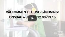Seminarium i Almedalen med Telia, Polisen, NetClean, Childhood och Friends