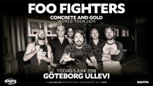 Foo Fighters till Ullevi nästa sommar!