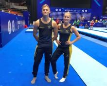 Lina Sjöberg tar guld i historisk världscupsfinal i DMT