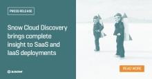 Snow lanserar Snow Cloud Discovery för full transparens i moln- och infrastrukturstjänster