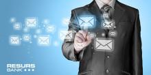 Resurs Bank inleder satsning på digital kundkommunikation