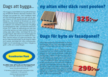 Scandinavian Plank annons våren 2012