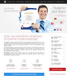 DGSV: Neue Website ab 01. Oktober 2015