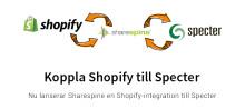 Shopify kan nu kopplas till Specters affärssystem
