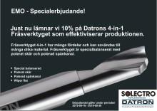 Fräsverktyget som effektiviserar produktionen - specialerbjudande