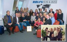Rolfs Flyg & Buss Gasellföretag 2018 – för femte året i rad