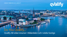 Qvalify AB söker resurser i Mälardalen och i södra Sverige