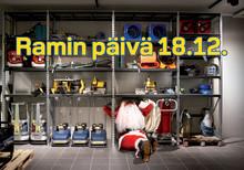 Tervetuloa Ramin päivän joulukahveille