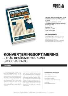 Konverteringsoptimering information - en bok av Jacob Jarnvall