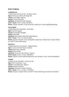 Hästgalan, nominerade, fredag