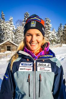 Anna Holmlund medvetslös efter krasch på träning i Innichen