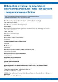 Behandling av barn i samband med smärtsamma procedurer_bakgrund