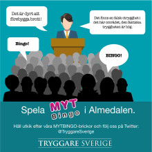 Mytbingo om brott & (o)trygghet i Sverige