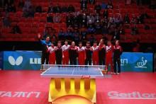 Nord- och Sydkorea förenas under Bordtennis-VM i Halmstad