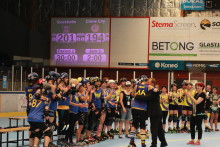 Stockholm Roller Derby försvarade SM-guldet!