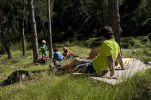 Wandern mit Kleinkind im Südtirolurlaub