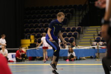 Svenskt VM-guld i tripplar (hopprep) till Lovisa Gustafsson ifrån Lycksele