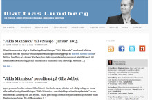 Nylansering av mattiaslundberg.se #psykologi