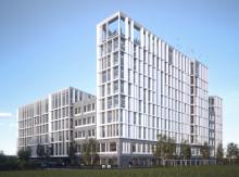 Axis huvudkontor - nytt landmärke i Lund ritat av FOJAB