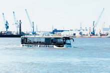 Hafencity Riverbus - en unik båtbuss