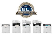 BLI certifica l'eccellenza  dell'ultima gamma di stampanti laser a colori Brother