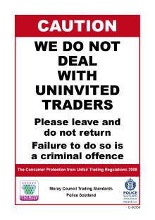Warning as increase in number of rogue doorstep trader season reported.