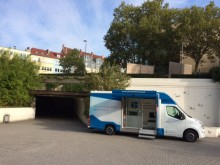 Beratungsmobil der Unabhängigen Patientenberatung kommt am 18. September nach Aschaffenburg.