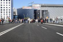 Signalbron till Arenastaden nu öppen