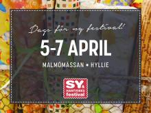 Sy- & Hantverksfestival Malmö 5-7 april 2019